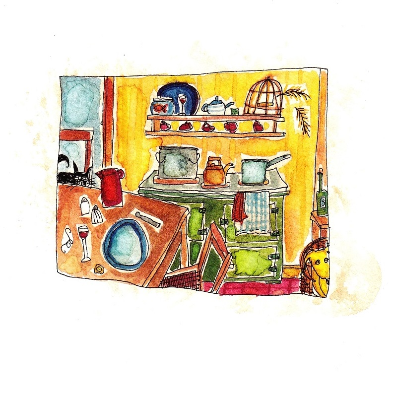 'The Kitchen' by Julia Weston