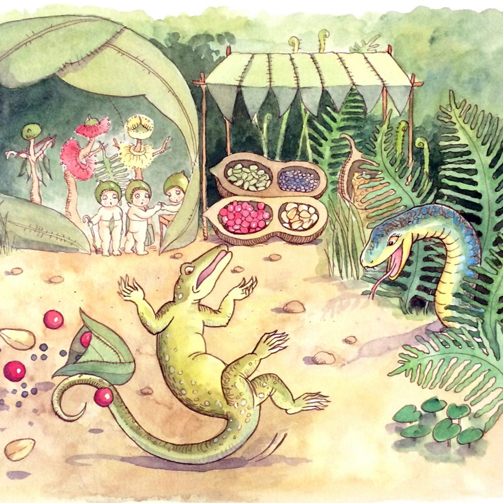May Gibbs 'Tales from the Bush' illustrated by Caroline Keys