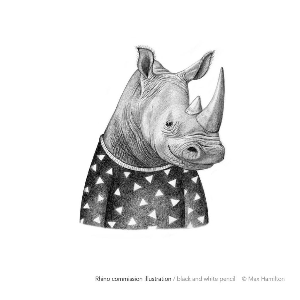 Rhino by Max Hamilton
