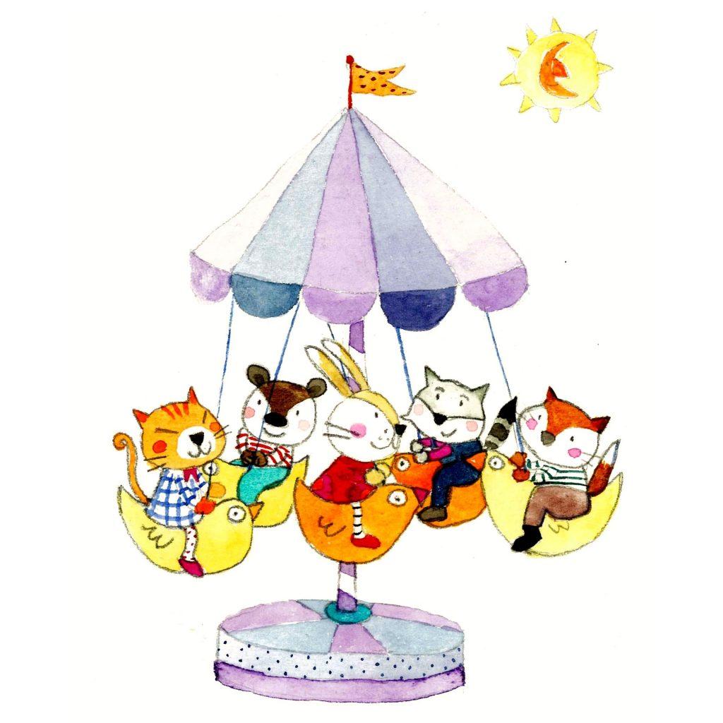 'Merry-go-round' by Emma Damon