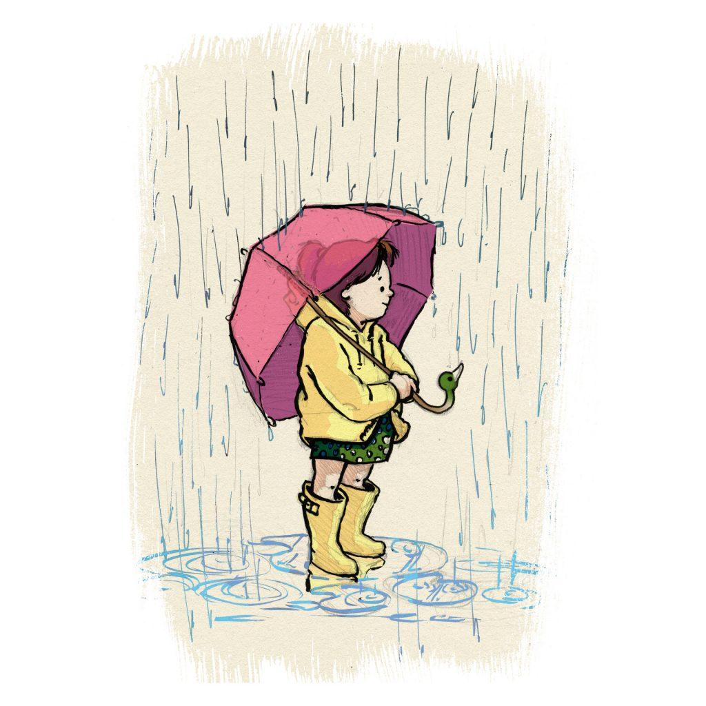 Rain (Personal Work) by Simon O'Carrigan