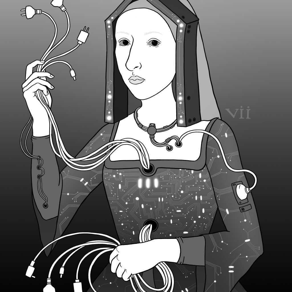 Henry VIII's 7th Android Wife by Polly Reid