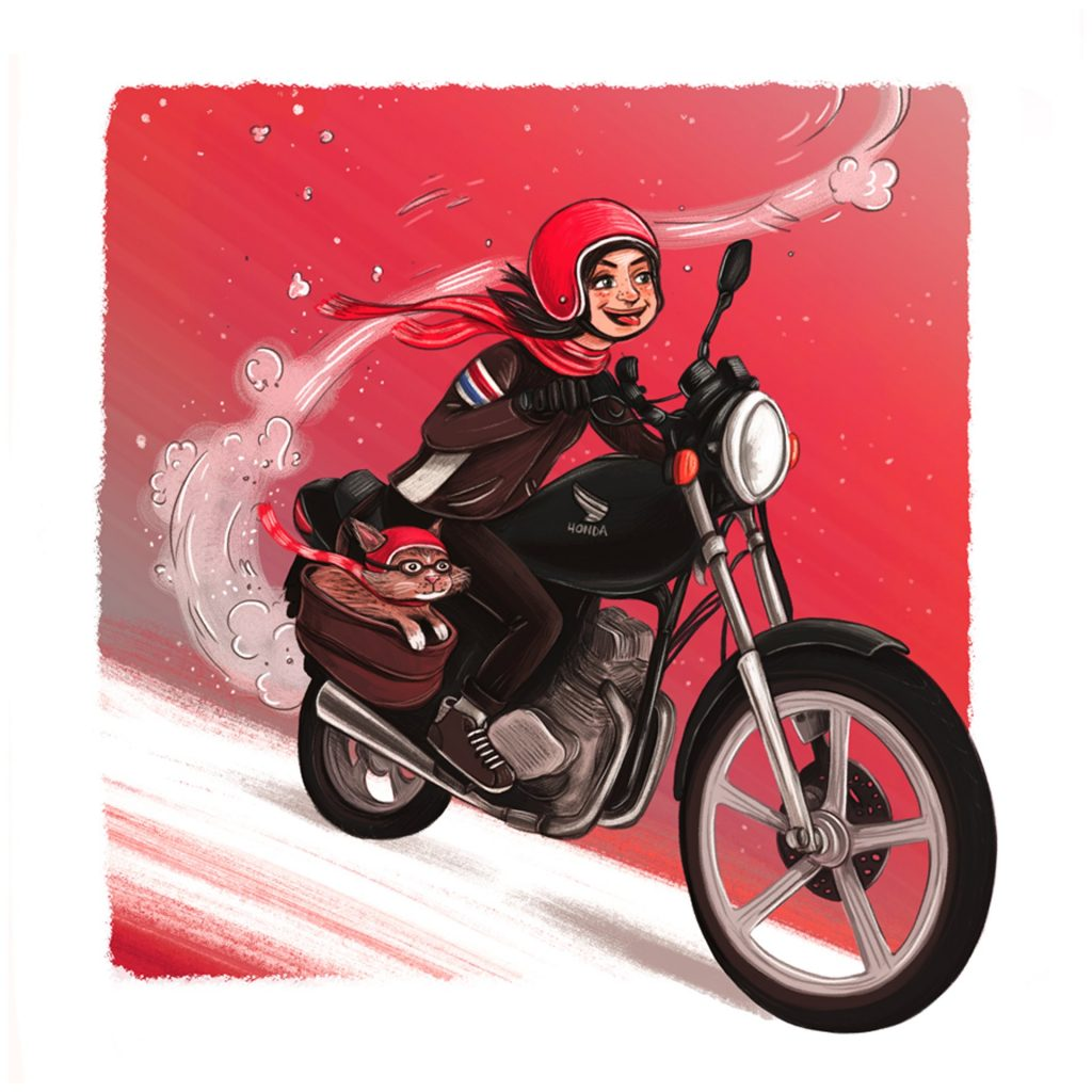 'Girls who Ride' by Rachel Tribout