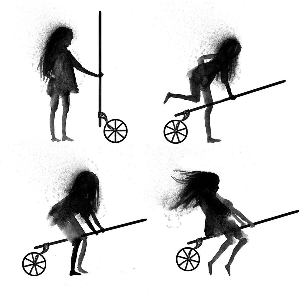 'Steampunk Witch' by Judy Watson