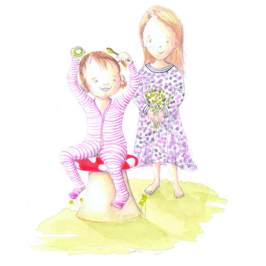 'Sweet Sisters' by Kirrili Lonergan