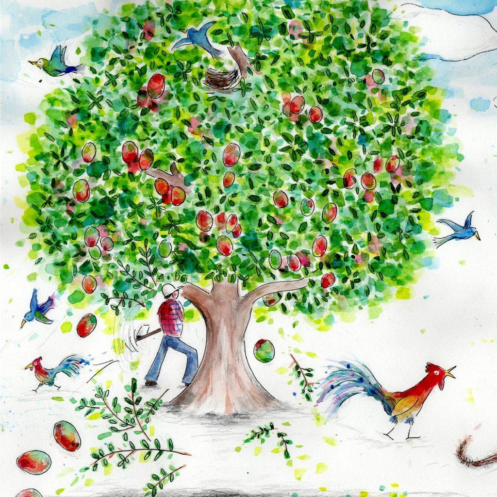 'The mango tree' by Julia Weston