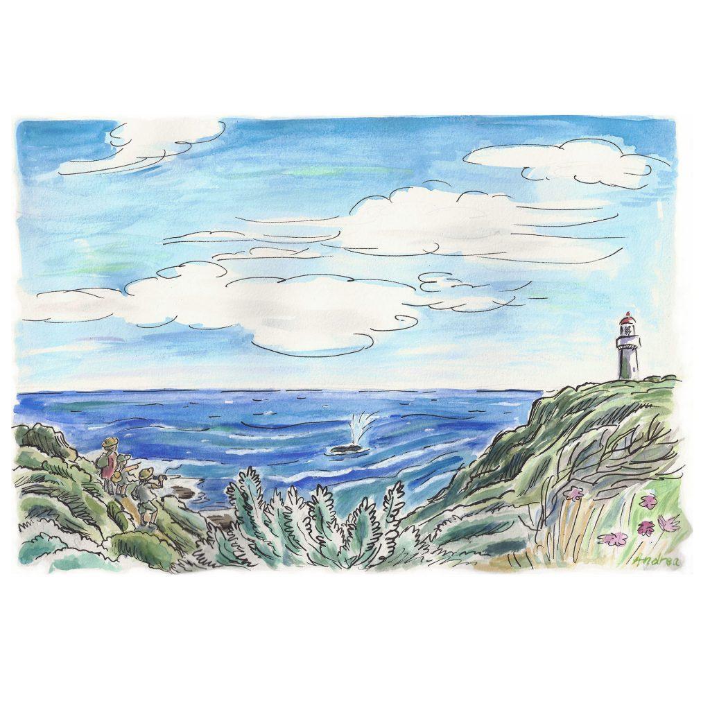 'whale spotting' by Andrea Verstegen